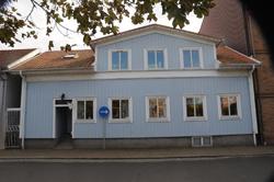 Familjen Hagmans tandvårdsmottgning ett hus i centrala Varberg