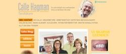 Hemsidan www.callehagman.se