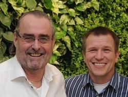 tandläkare Calle Hagman med Dr Ian Buccle