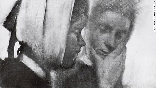 målning av Edgar Dega