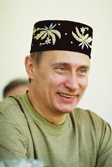 Vladmir Putin ler sällan