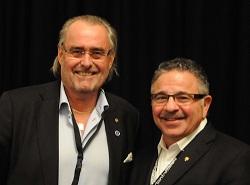 tandläkare Calle Hagman och Dr John C Kois