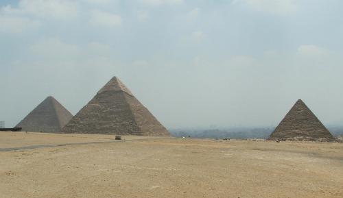pyramider i Egypten