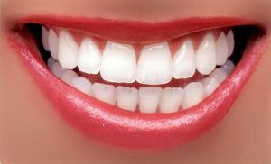 Bild på en vacker mun