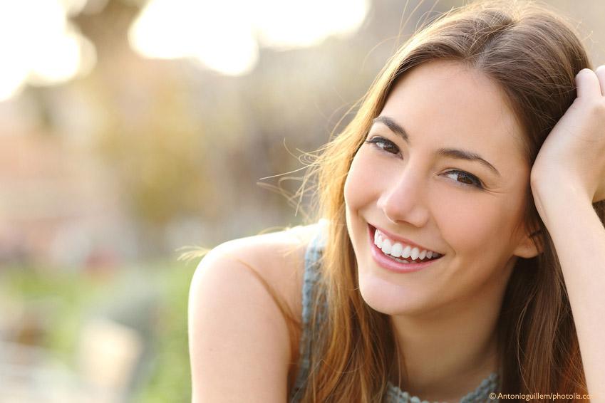 vackra friska tänder är hälsa